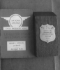 1952 League Trophy & Riders Licence.
