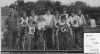 1972 Aug 16th. Billy Sanders opens the Chantry Aces track. L/R: Ian Land-Ian Tawn-John Rudland-Colin Land-Stan Land-Chris Rudland-Billy Sanders-Peter Freeman-Alan Goodyear-David Warne-Steve Polley-Tony Bullard.