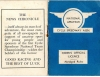 1950s Racing Licence Cover.