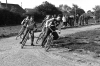Rockets v Hammers. Hammer rider leads Dave Withers & Bert Randall(both Rockets).